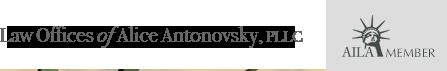 Law Offices of Alice Antonovsky, PLLC