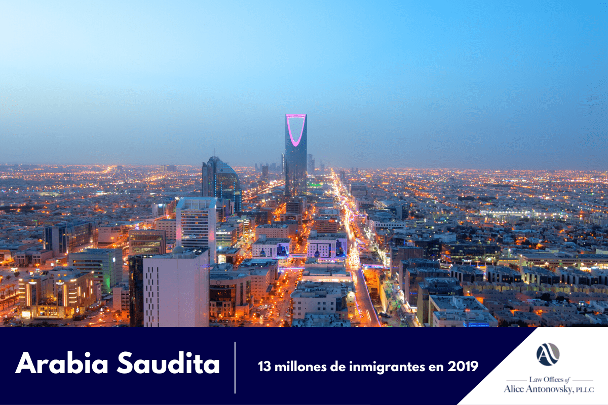 inmigrantes en arabia saudita