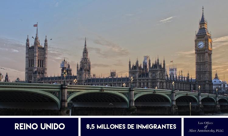 Inmigrantes en Reino Unido