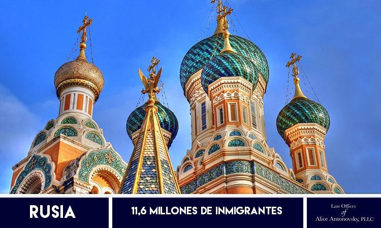 Inmigrantes en Rusia