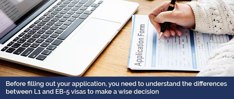 l1 visa vs EB-5 visa