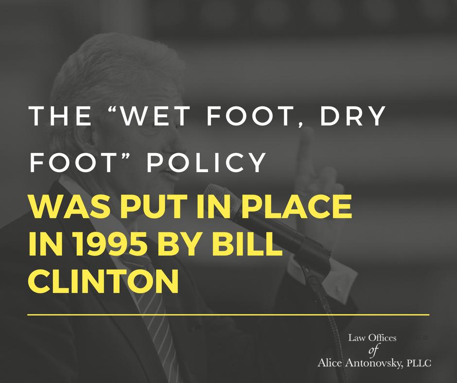 Wet foot, Dry foot