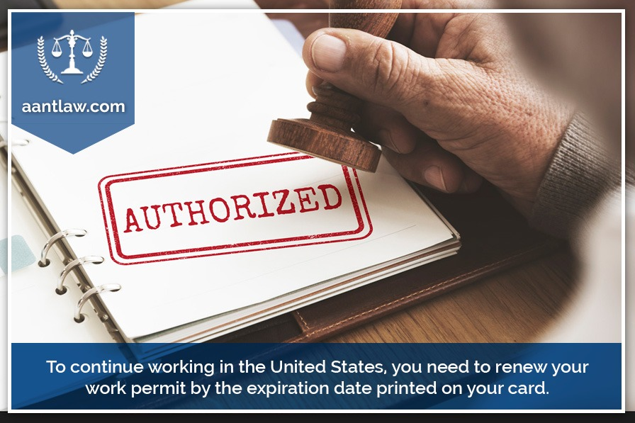 u.s. work permit renewal