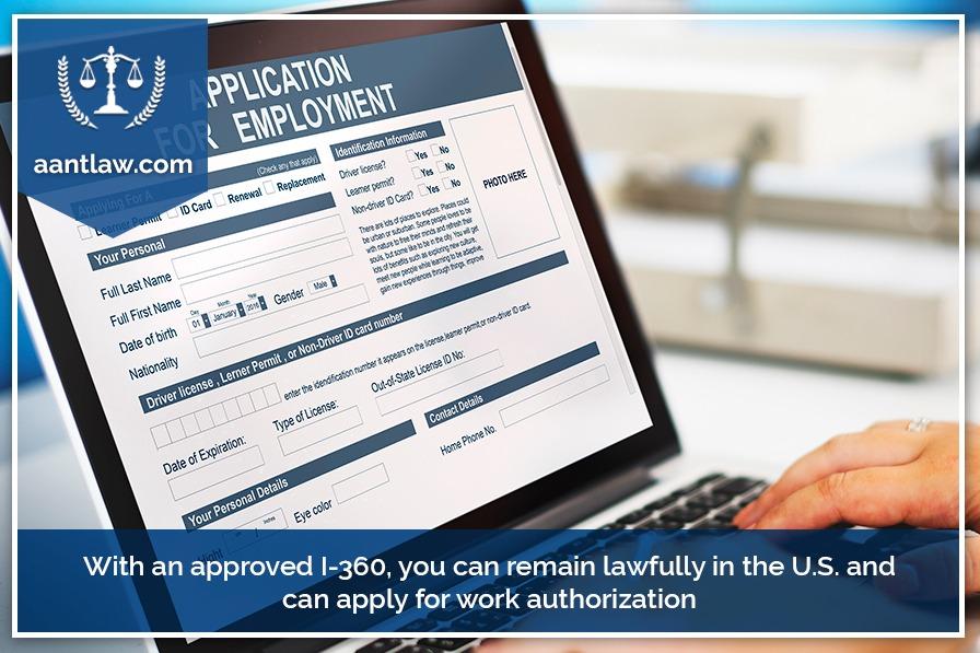 vawa work permit