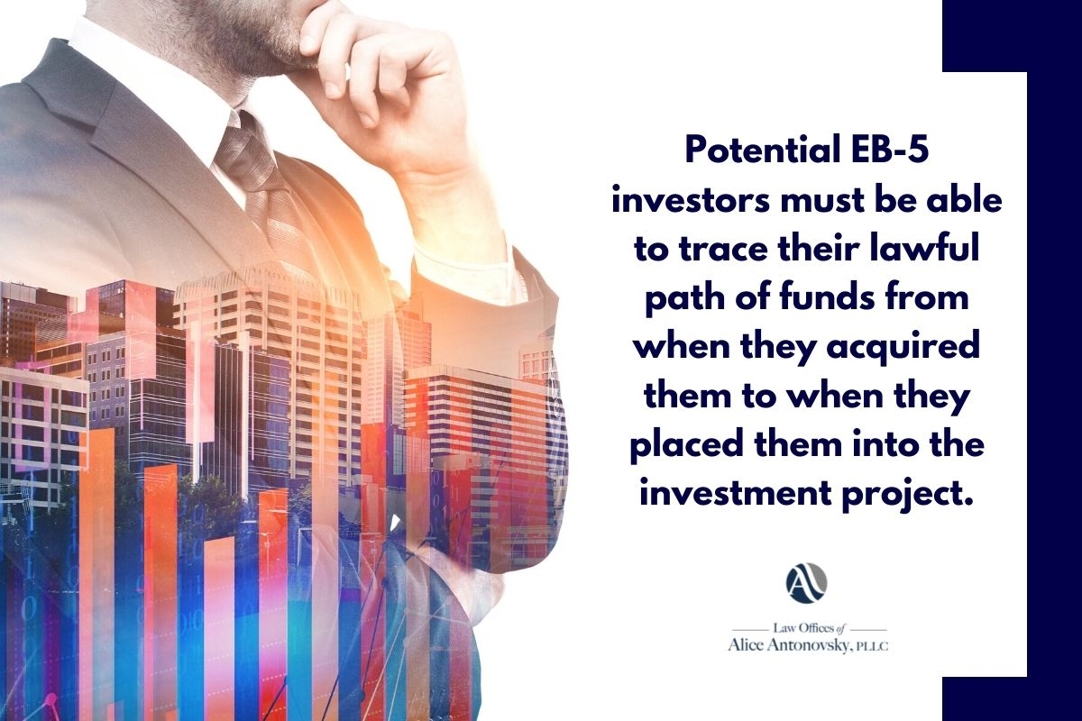 EB-5 path of funds