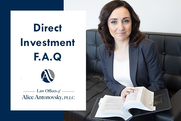 EB-5 Visa Direct Investment F.A.Q