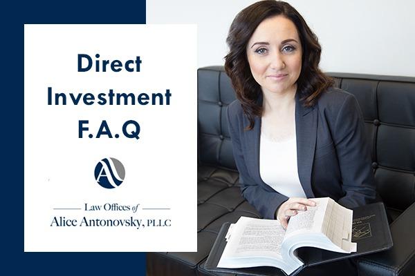 EB-5 Visa Direct Investment F.A.Q